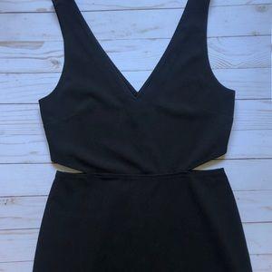 Black Express Cut-Out Dress